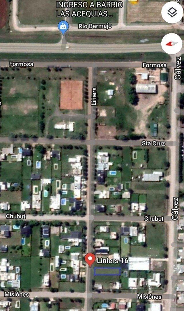 terreno en roldan - urbanizacion continua al tejido urbano de la ciudad - barrio consolidado