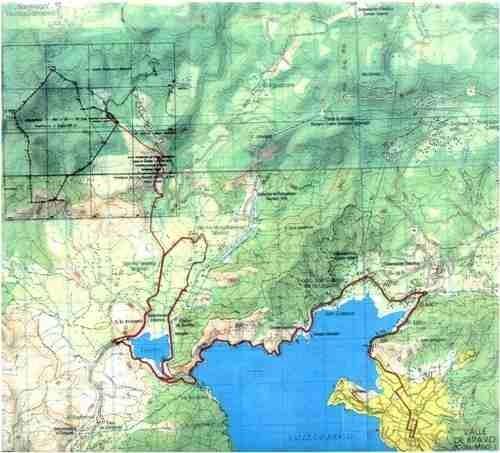 terreno en santa teresa tilostoc, valle de bravo