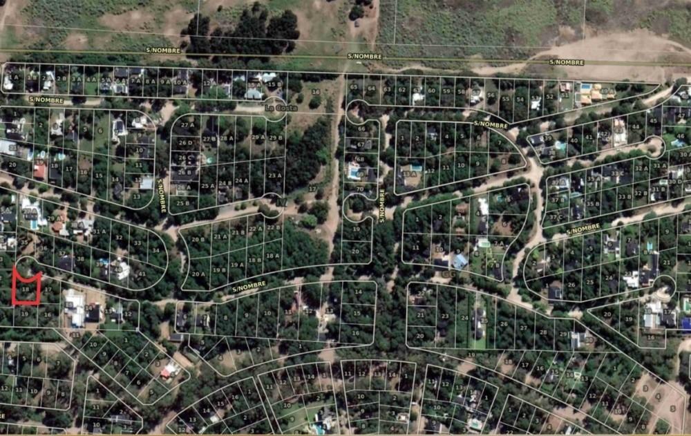 terreno en santa teresita dentro del barrio paseo del bosque