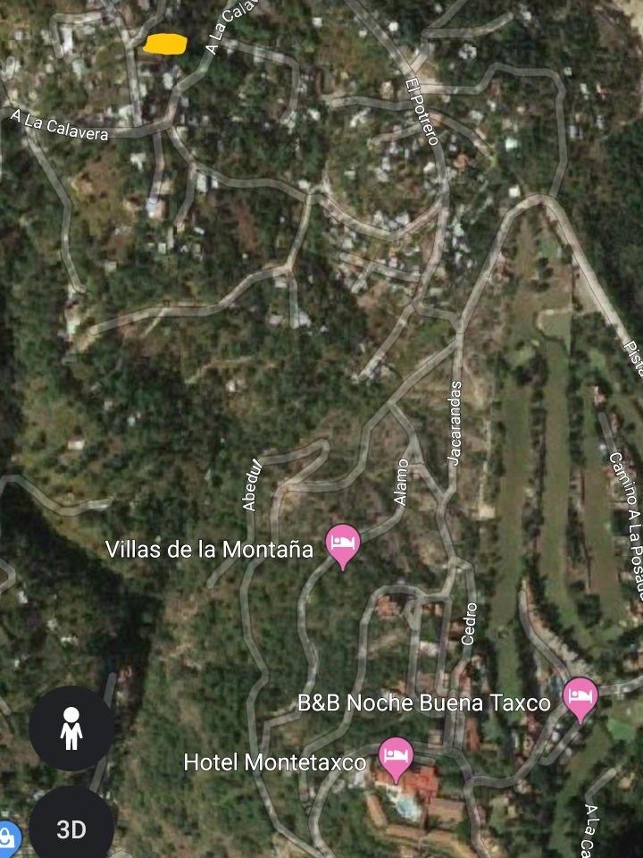 terreno en taxco son 370 metros cuadrados
