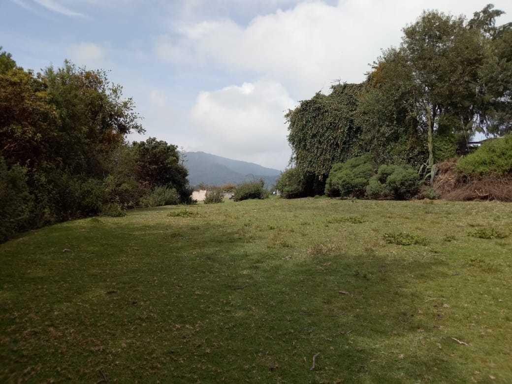 terreno en teopazulco, alcaldía de cuajimalpa 2200 m2