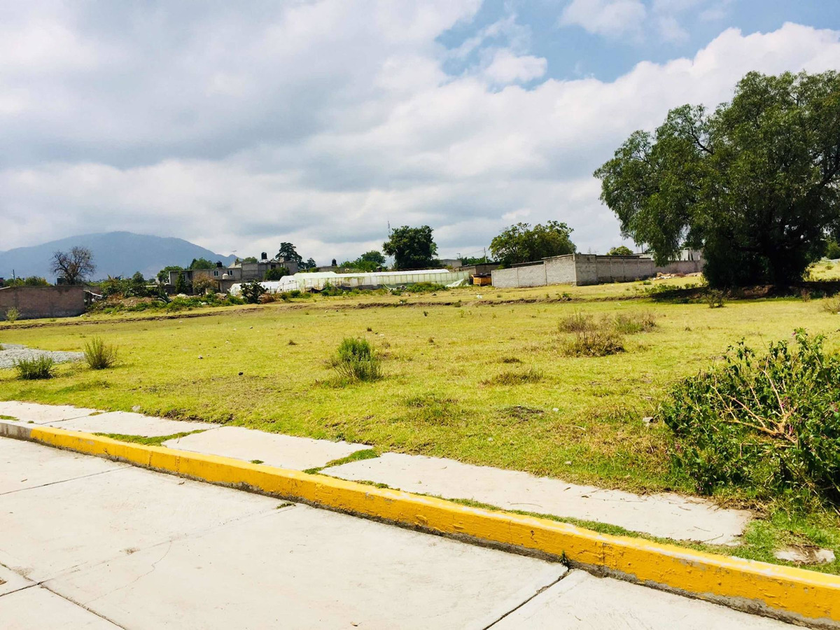 terreno en tequexquinahuac texcoco con todos los servicios