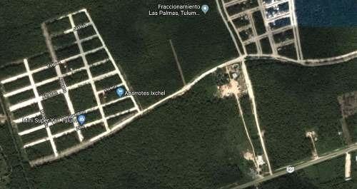 terreno en tulum carretera federal 3 hectareas