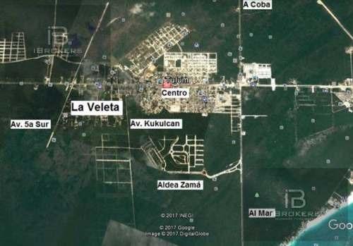terreno en tulum región 15 manzana 108 zona estratégica
