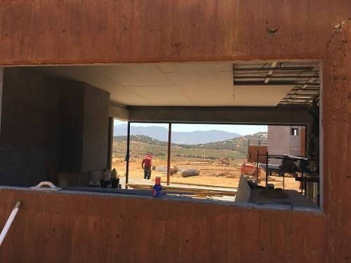 terreno en valle de guadalupe en club de polo