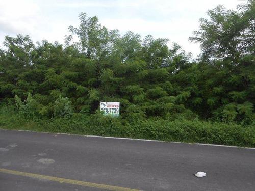 terreno en venta 1.67 hectareas en jamapa a pie de carretera