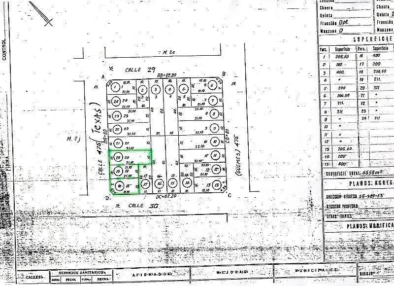 terreno en venta, 206,50mts 190128