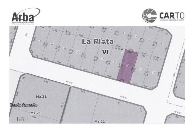 terreno en venta, 229,50mts 183017