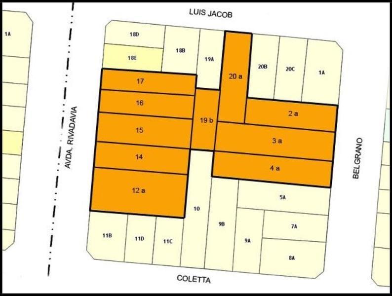 terreno en venta 3500 m2 para emprendimiento en centro campana