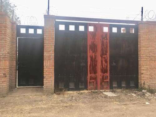 terreno en venta 451 metros en la entrada, a 150 metros de carretera pachuca - actopan