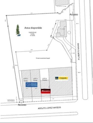 terreno en venta  4,700 m2 , toluca , edo de mex