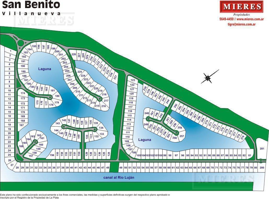 terreno en venta a la laguna- san benito, villanueva