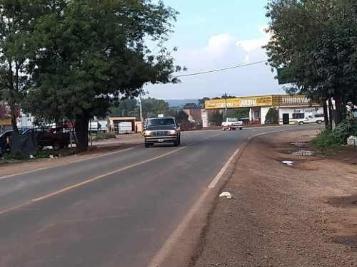 terreno en venta a pie de carretera