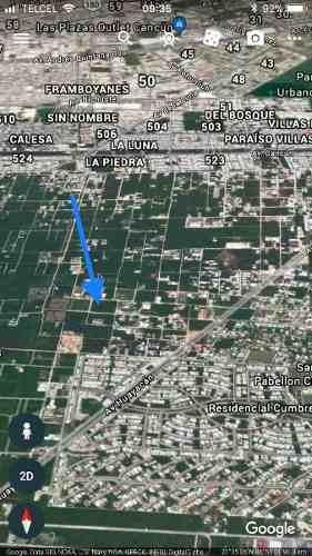 terreno en venta - alamos ii - cancun  q.roo