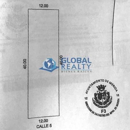 terreno en venta, alura residencial al norte mérida. tv-4944