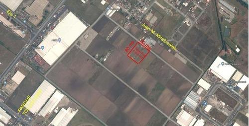 terreno en venta atrás del parque industrial toluca 2000