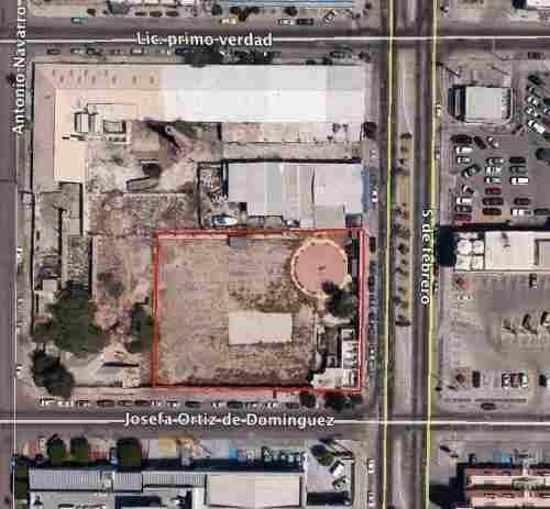 terreno en venta, avenida 5 de febrero, la paz, b.c.s.