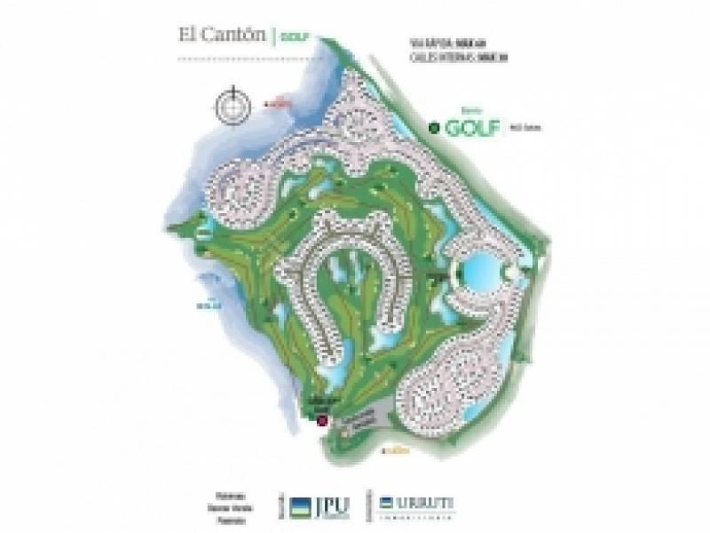 terreno en venta barrio golf en el cantón