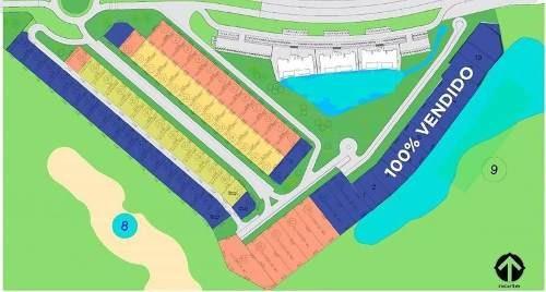terreno en venta cancún country club en el katán privada lote 7