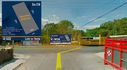 terreno en venta cancún de uso mixto