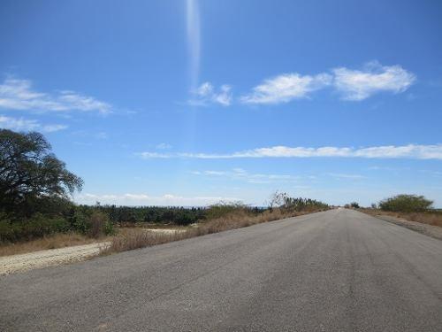 terreno en venta - carretera federal puerto escondido, oaxaca.