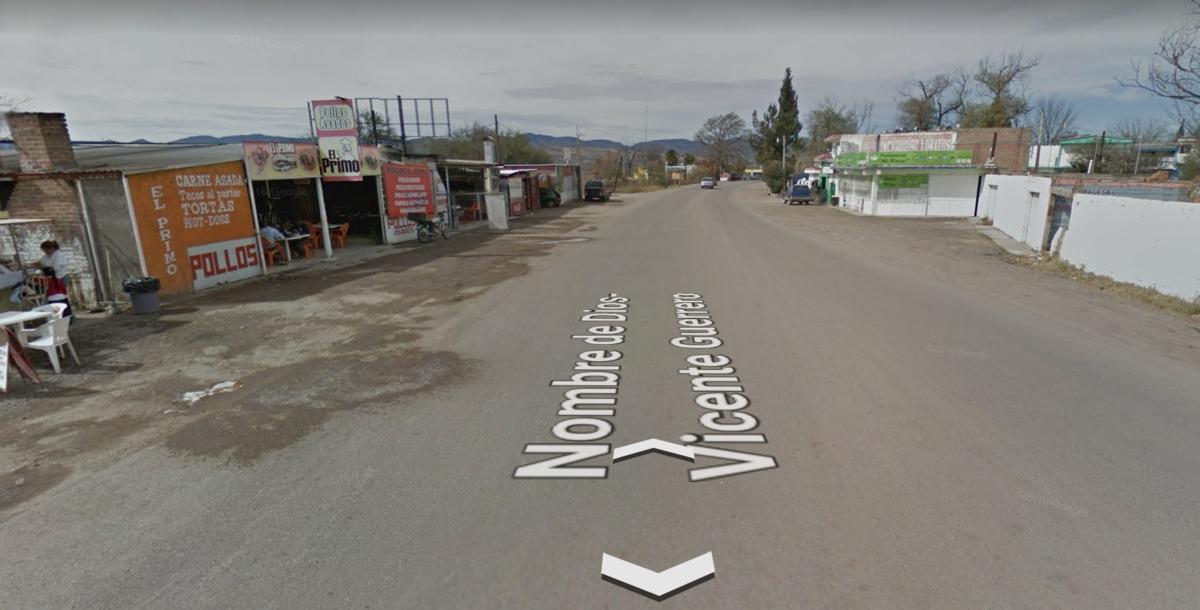 terreno en venta carretera nombre de dios - vicente guerrero