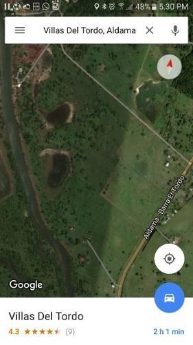 terreno en venta cerca de barra del tordo, aldama.