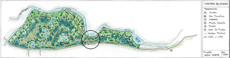 terreno en venta con costa del rio caleufu - neuquen