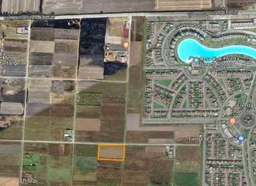 terreno en venta con excelente ubicación en metepec