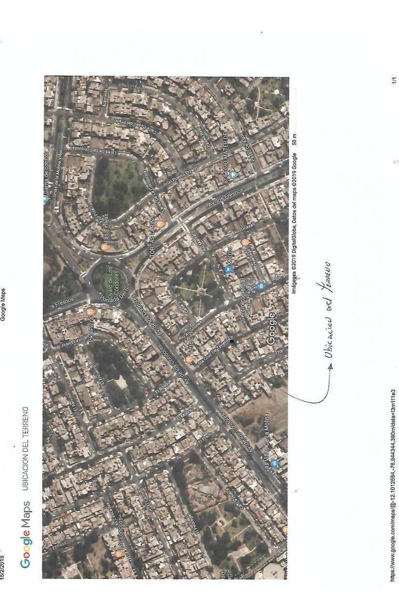 terreno en venta con licencia de construir incluido