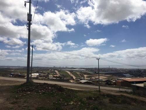 terreno en venta con vista al ma, fracc. colinas de mazatlán, rosarito
