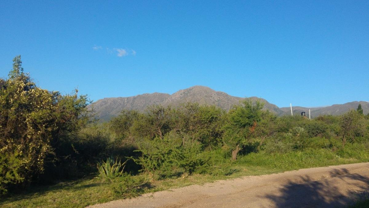 terreno en venta cordoba capilla del monte