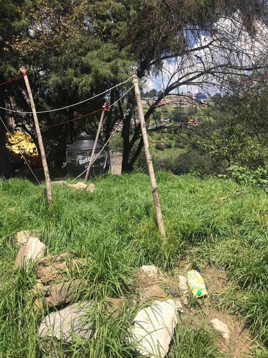 terreno en venta ( cuajimalpa, santa fe, toluca)