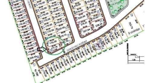 terreno en venta de 170 m²  fracc lomas residencial