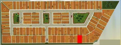 terreno en venta de 20 x 37m en zona merida-progreso. de oportunidad.