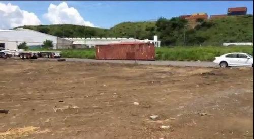 terreno en venta de 2,467 m2 en zona industrial de veracruz