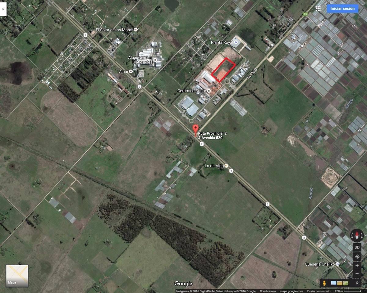 terreno en venta de 39.000. m2 - la plata parque industrial