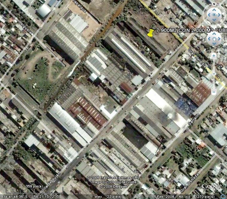 terreno en venta de 4000 m2 - parq indus avellaneda