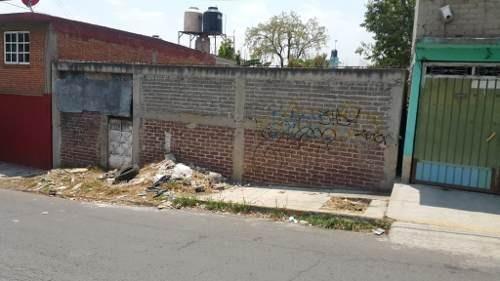 terreno en venta de calle a calle de 378 m2 en campestre potrero, iztapalapa.