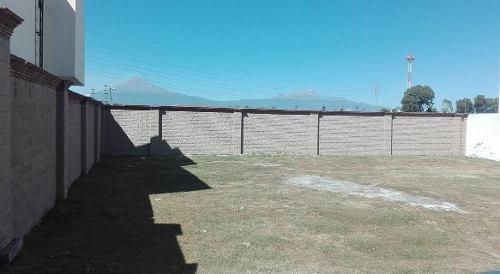 terreno en venta dentro del cluster santiago de lomas de angelopolis.i