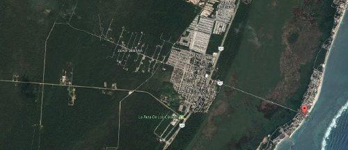 terreno en venta - ejido puerto morelos