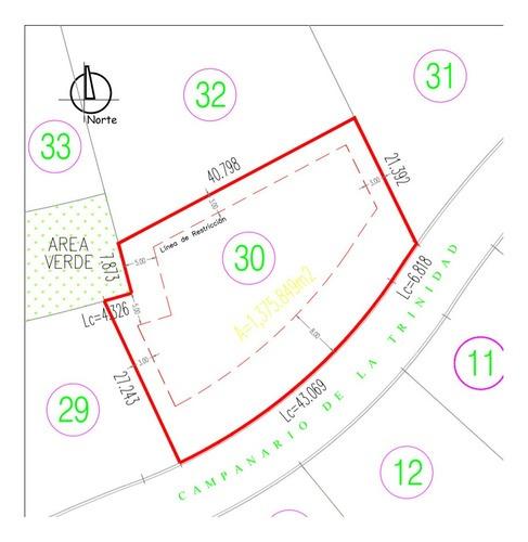 terreno en venta - el campanario - te311