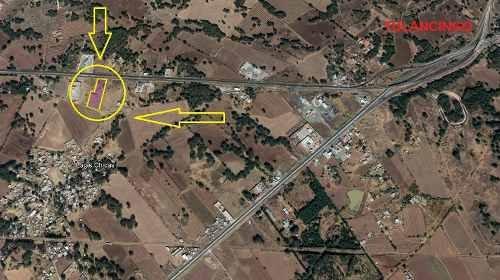 terreno en venta el sabino sobre carretera federal pachuca-tulancingo