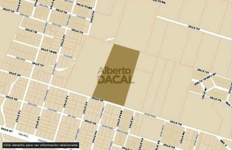 terreno en venta en 138/475 y 477 city bell - alberto dacal propiedades