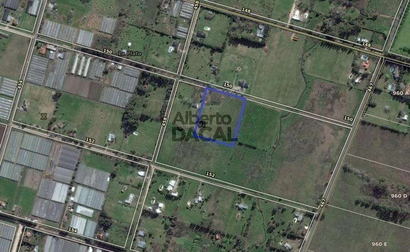 terreno en venta en 150/458 y 467 city bell - alberto dacal propiedades