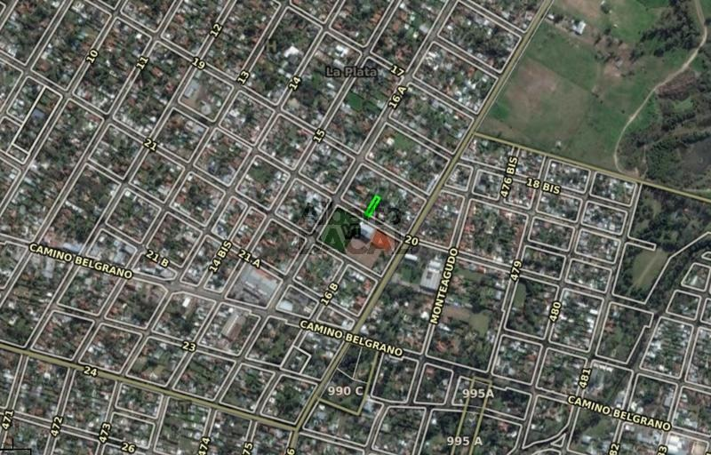 terreno en venta en 20/474 y 476 city bell - alberto dacal propiedades