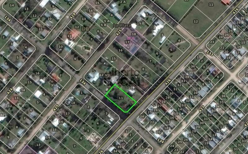 terreno en venta en 426 esq. 134 villa elisa - alberto dacal propiedades