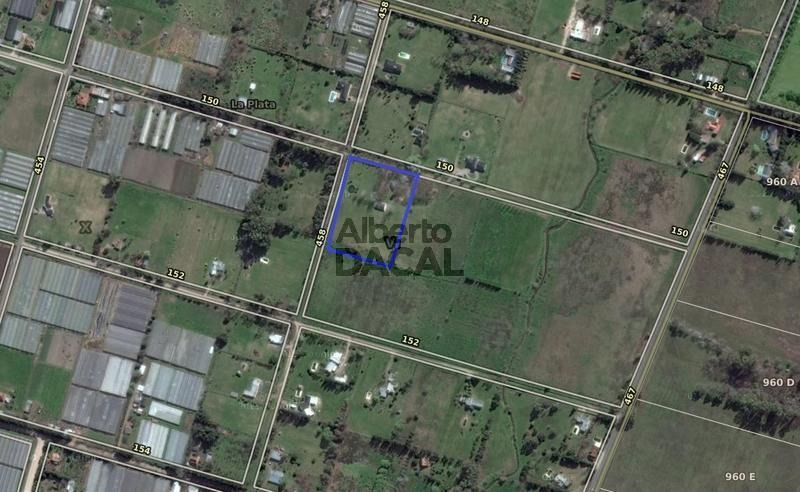 terreno en venta en 458 esq. 150 city bell - alberto dacal propiedades