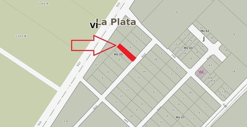 terreno en venta en 513/142 y 143 manuel b gonnet - alberto dacal propiedades