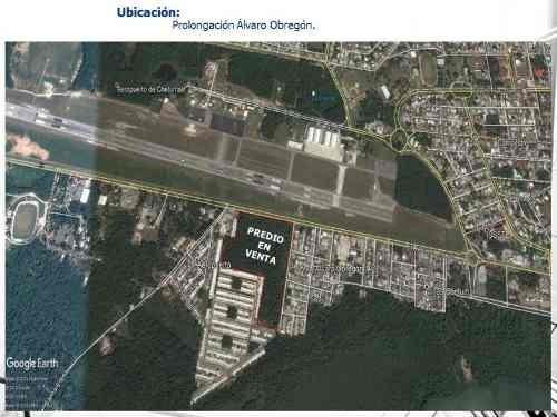 terreno en venta en aeropuerto,  othón p. blanco
